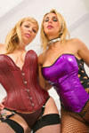 Big booty white girls Adrianna Nicole and Tanya Tate on BacksideBonanza.com